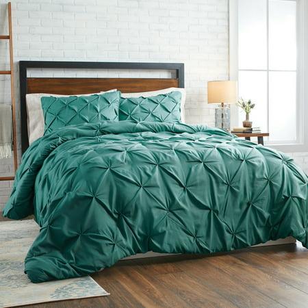 Better Homes & Gardens King Pintuck Comforter Set, 3 Piece