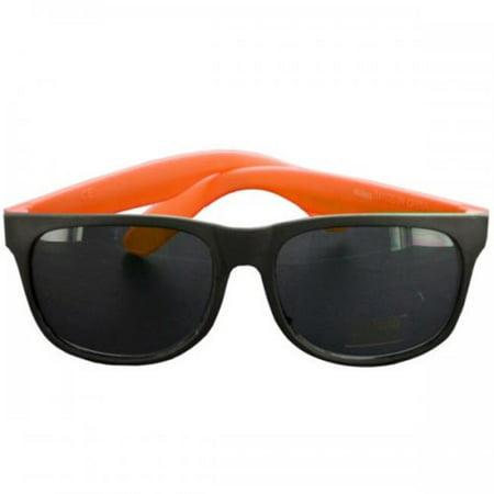 Bulk Buys KL20719 UV 400 Protection Sunglasses, Black & Orange