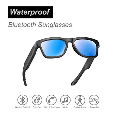 OhO sunshine Water Resistant Audio Sunglasses, Fashionable Bluetooth Sunglasses to Listen Music and Make Phone Calls,UV400