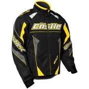 Castle X Racewear Bolt G4 Mens Snowmobile Jacket Yellow