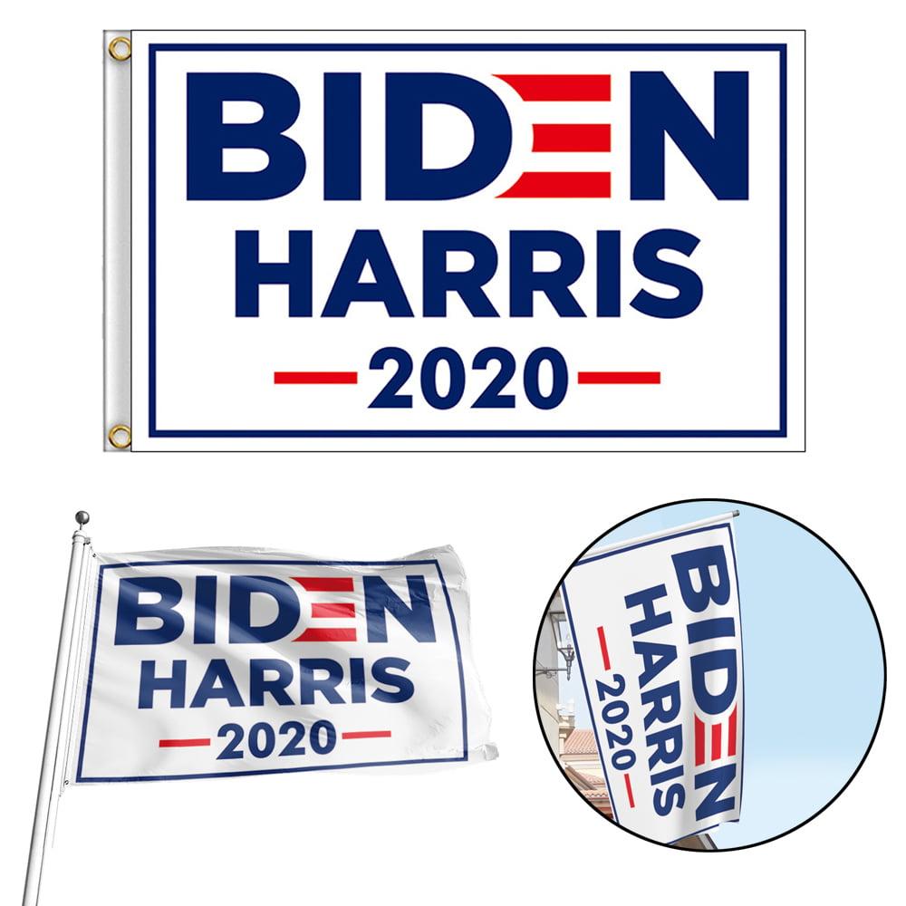 Joe Biden 2020 Flag FREE FIRST CLASS SHIP Biden For President Sign USA ONE SIDED