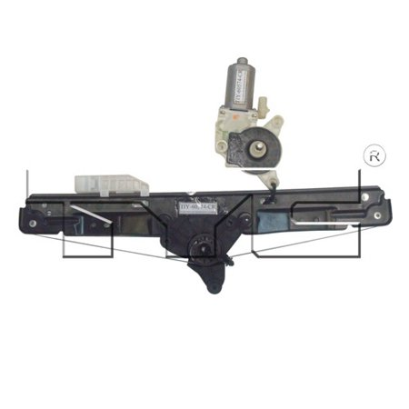 Go-Parts OE Replacement for 2007 - 2010 Chrysler Sebring Power Window Motor And Regulator Assembly - Rear Right (Passenger) Side - (Sedan) 68023518AA CH1551113 Replacement For Chrysler Sebring 2001 Chrysler Sebring Window
