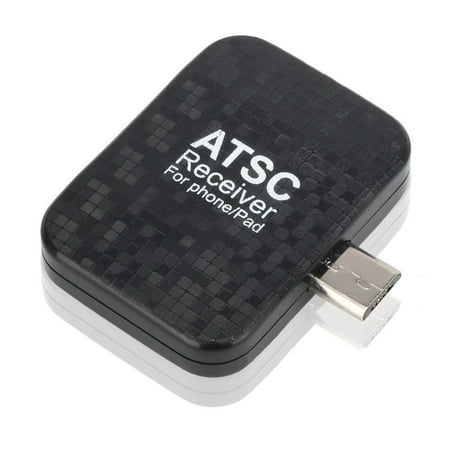 Rybozen Mini Digital TV Tuner ATSC TV Receiver for Android Phones/Pad - Special for