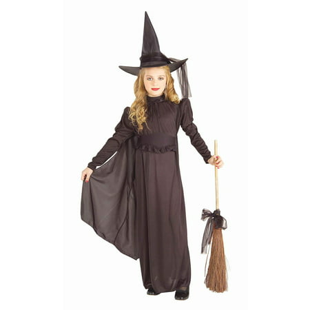 Girl's Classic Witch Costume - Elegant Witch Costume