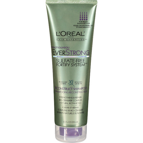L'Oreal Paris EverStrong Sulfate Free Reconstruct Shampoo, 8.5 Oz