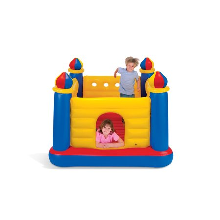 Intex Inflatable Colorful Jump-O-Lene Kids Castle Bouncer for Ages 3-6 | 48259EP - image 6 of 7