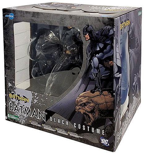 ArtFX Batman Statue [Black Costume]