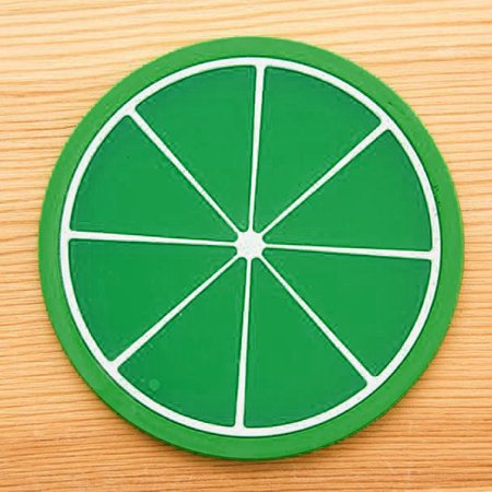 Fruit Coaster Colorful Silicone Cup Drinks Holder Mat Tableware Placemat (Alessi Mediterraneo Fruit Holder)