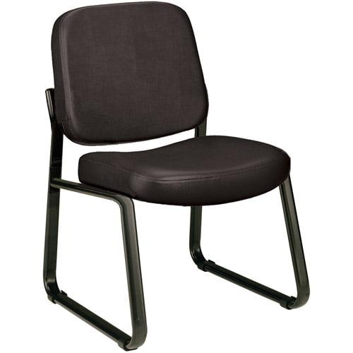 OFM Armless Vinyl Reception Chair