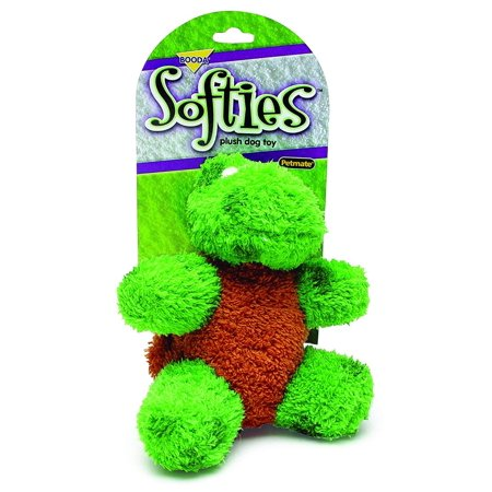 Booda Corporation (Aspen) DAP53512 Softies Toby Turtle Pet Toy, Medium, These characters are soft, lovable and ready to be your dogs new best friend By Booda Corporation