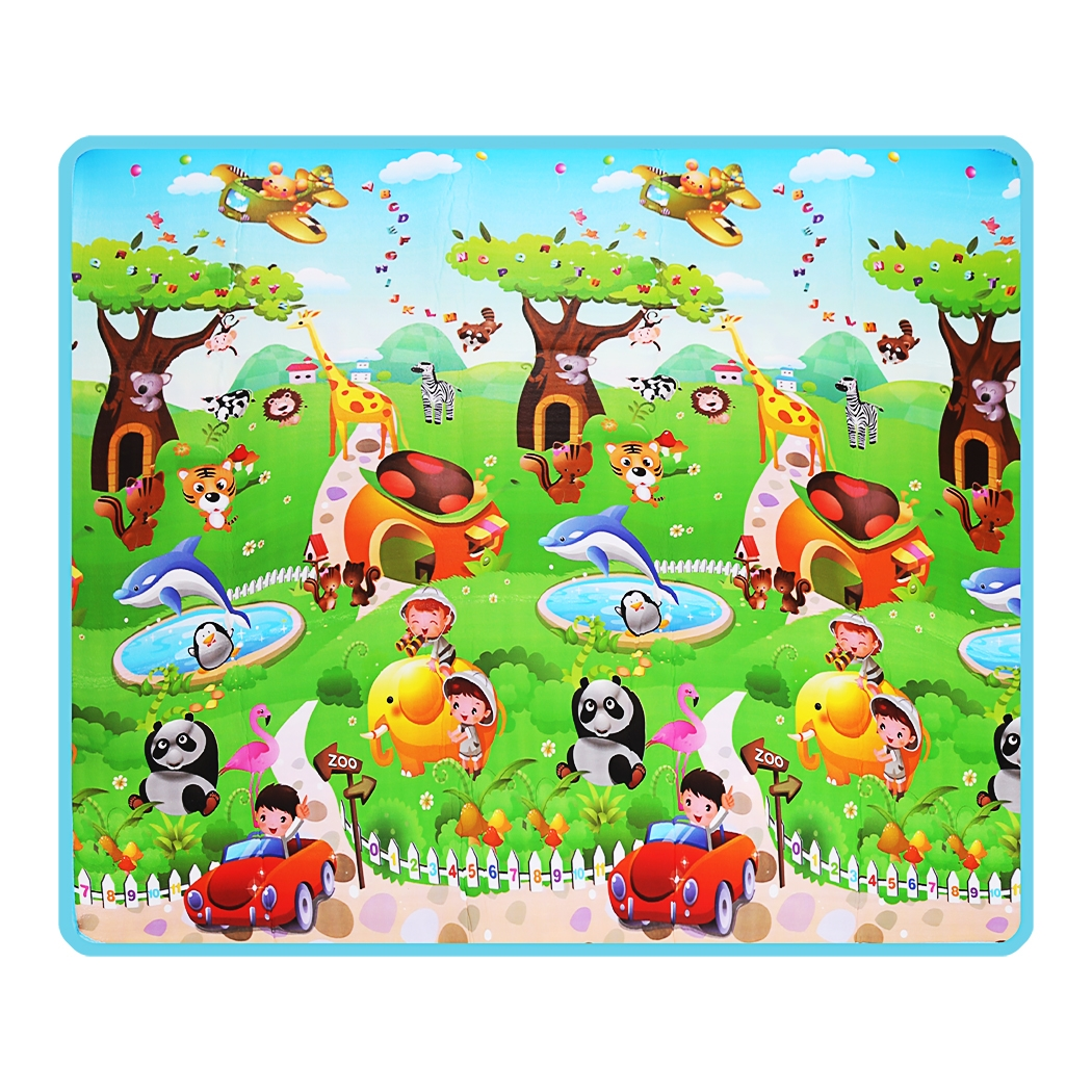 Waterproof Baby Play Mat,Children Kid Play Rug Crawling Playing Floor