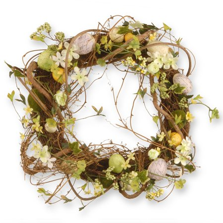 Brown Artificial Wreath - National Tree Artificial 18