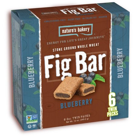 Natures Bakery Stone Ground Whole Wheat Blueberry Fig Bars  2 Oz  6 Count  72 Total  Pack Of 12