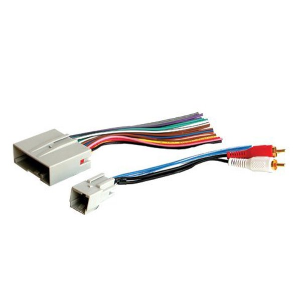Stereo Wire Harness Ford Fusion 06 07 08 09 2006 2007 2008 2009 (car radio  wiring installation parts) - Walmart.com - Walmart.com