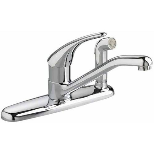 American Standard 4175.503.002 Colony Soft 2.2 GPM Kitchen Faucet with Color-Matched Sprayer thru Escutcheon, Available in Various Colors