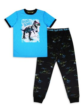 Jellifish Kids 2-Piece Pajama Sleep Set (Little Boys and Big Boys)