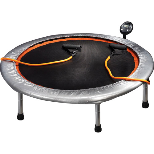 Gold's Gym 36-Inch Trampoline Circuit Trainer, Chrome
