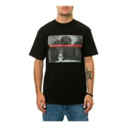 Black Scale Mens The Shanti Skull Graphic T-Shirt black S