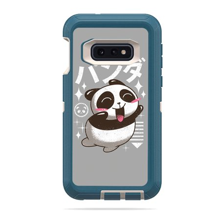 MightySkins Skin Compatible With Otterbox Defender Samsung Galaxy 10E - 420 Zombie | Protective, Durable, and Unique Vinyl wrap cover | Easy To Apply, Remove, and Change Styles | Made in the