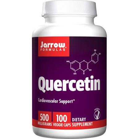 Jarrow Formulas Quercetin, Cardiovascular Support, 500 mg, 100 Veggie