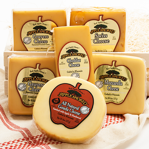 Red Apple Smoked Swiss Cheese, 8 oz