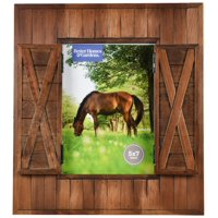 "Better Homes & Gardens 5"" x 7"" Barn Door Picture Frame"