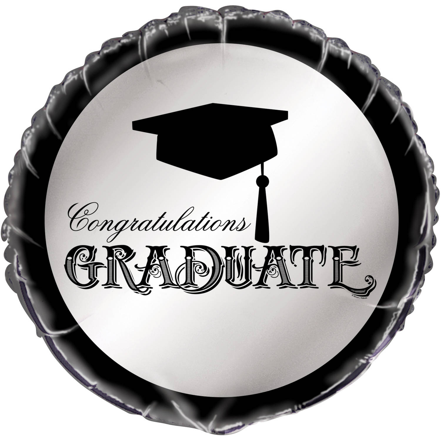 Foil Classic Graduation Balloon, 18 in, 1ct