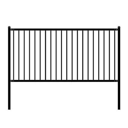 - ALEKO Lyon Style Steel Fence