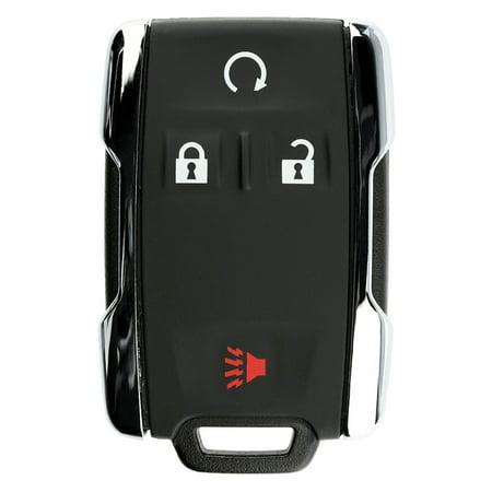 KeylessOption Keyless Entry Remote Control Car Key Fob Replacement for GM GMC Chevy Sierra Silverado M3N-32337100 ()