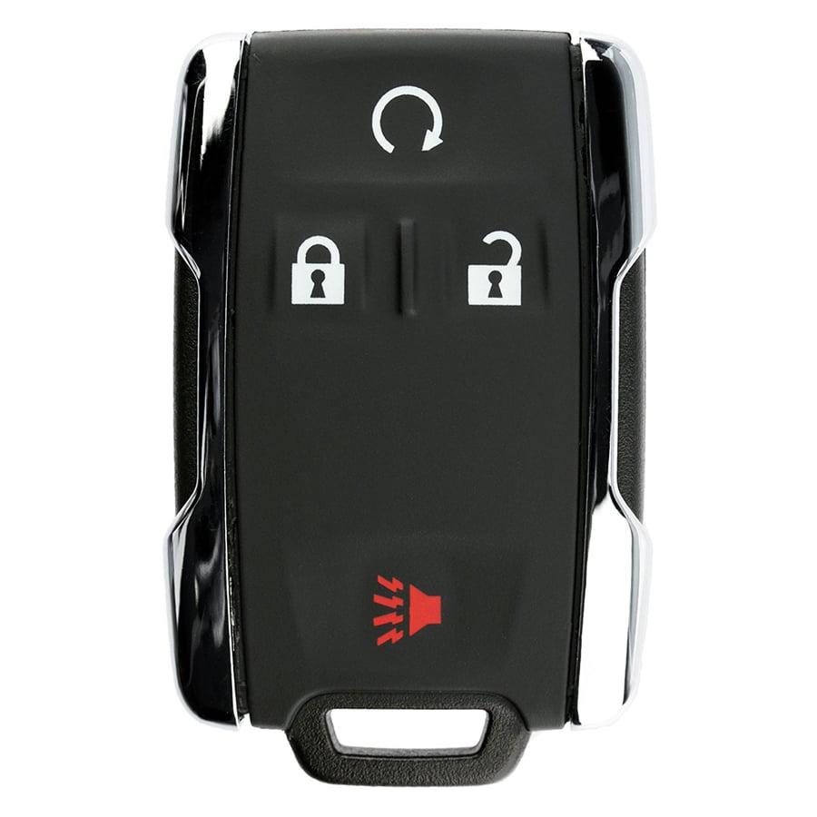 KeylessOption Keyless Entry Remote Control Car Key Fob Replacement for GM GMC Chevy Sierra Silverado M3N-32337100