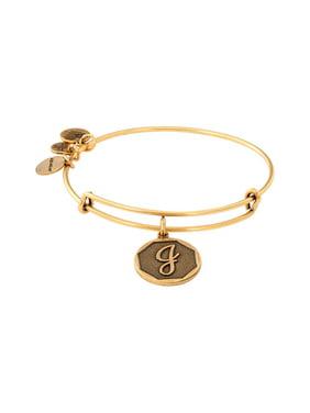 Initial J Charm Bangle Bracelet - A13EB14JG