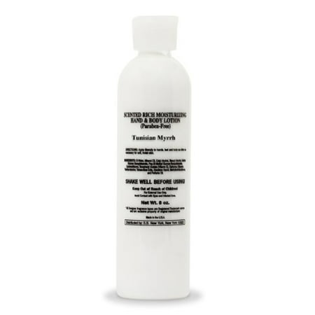 Tunisian Myrrh Grade A Scented Body Lotion (8 oz