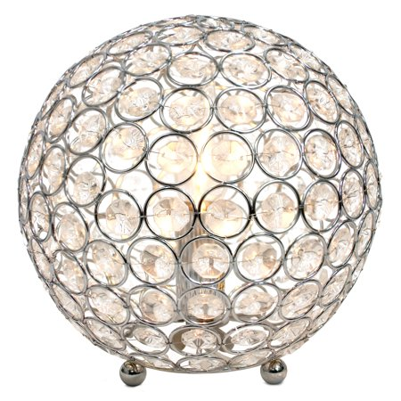 All The RagesLT1026-CHR Crystal Ball Table Lamp - image 3 of 4