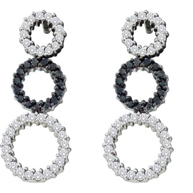 Gold and Diamonds EWZA1075-W 0. 78CT-DIA FASHION EARRING