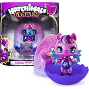 Hatchimals, Glow up, 3-inch Magic Dusk Collectible Figure with Glow-in-the-Dark Wings (Style May Vary)