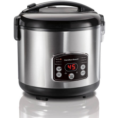 Hamilton Beach Rice & Hot Cereal Cooker | Model# 37548