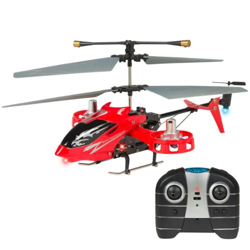 Avatar 4CH 2.4G Metal RC Remote Control Helicopter LED Light GYRO RTF UP