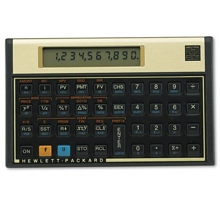 Hp 12C Financial Calculator  10 Digit Lcd