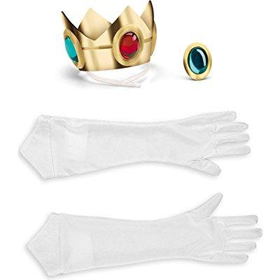 princess peach accessory kit costume accessory set - Peaches Costume