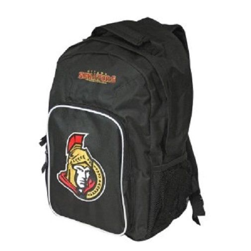 "Ottawa Senators NHL Concept One ""Southpaw"" Black Backpack"