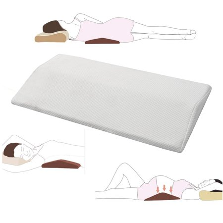 Bestller Memory Foam Sleeping Pillow Lower Back Pain Orthopedic Lumbar Support Foot