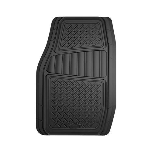 Custom Accessories 78830 Floor Mats, Truck/SUV, Black, 2-Pc.