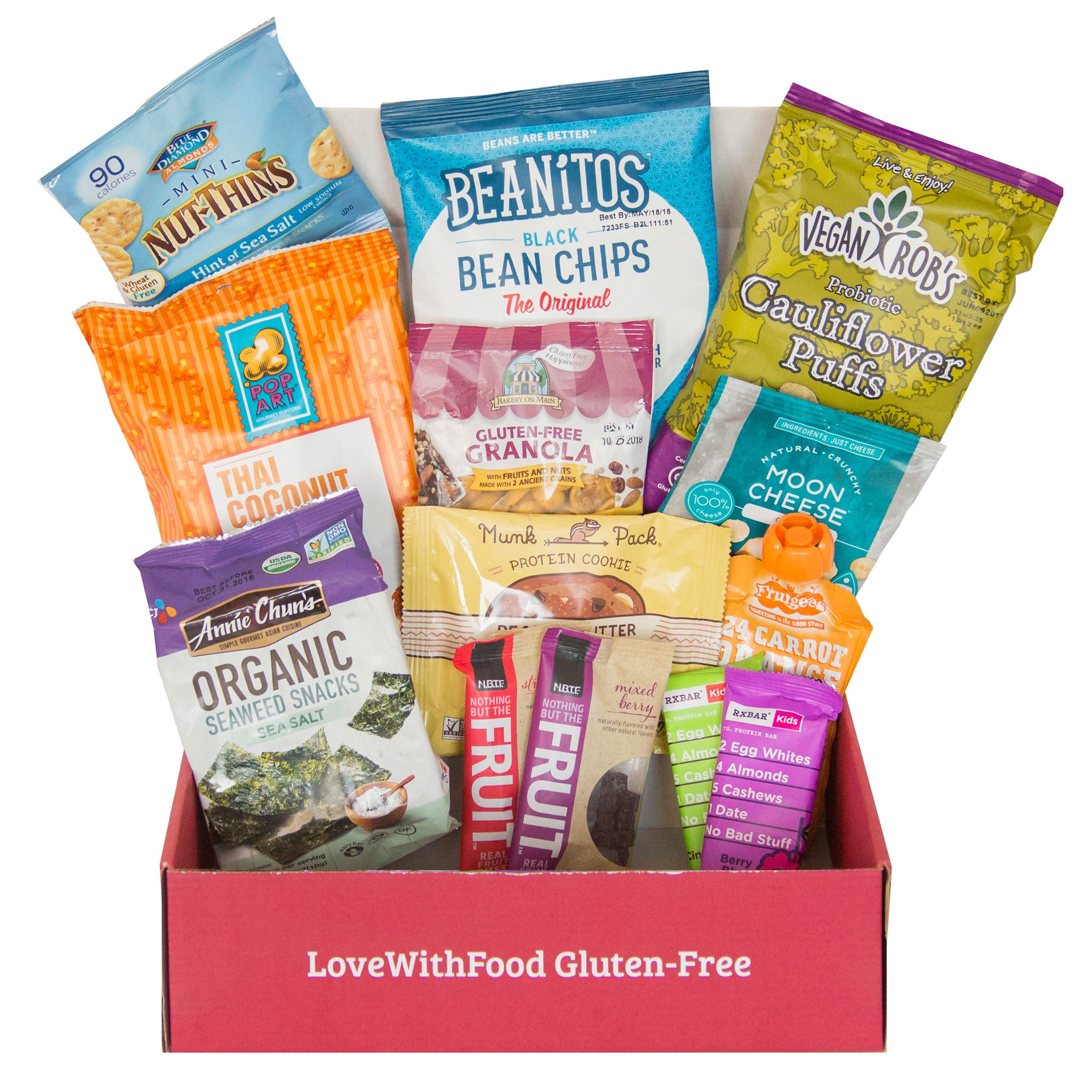 Love With Food Gluten-Free All-Natural, Artificial Junk-Free Snacks, Gluten-Free, 1 Ct