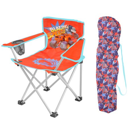 Idea Nuova Character Camp Monster Machine Kids Chair (Character Ideas)
