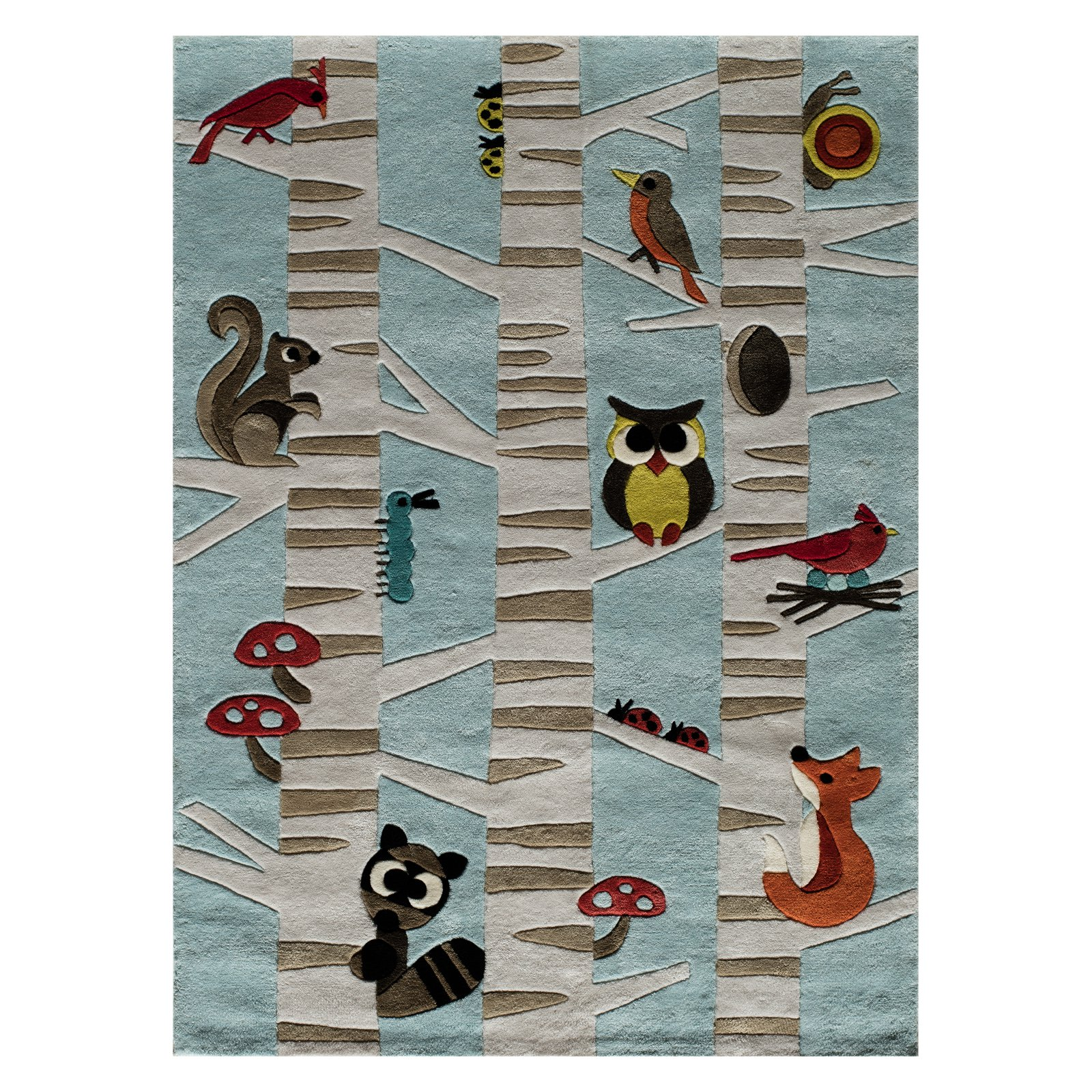 Momeni Lil Mo Whimsy Forest Area Rug