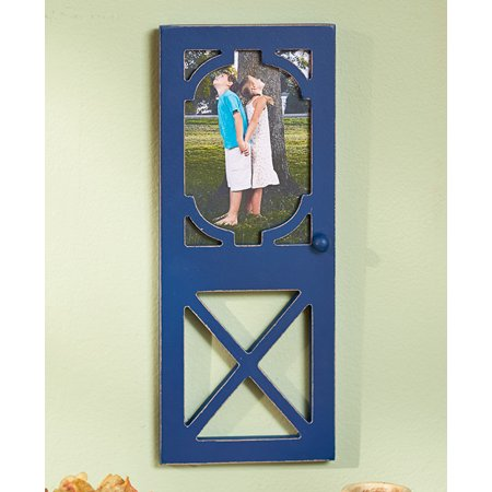 The Lakeside Collection Rustic Door Photo Frames