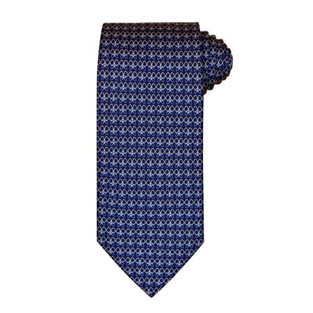 Butterfly Silk Tie - Salvatore Ferragamo Blue Butterfly Silk Neck Tie