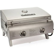Cuisinart Chef's Style Tabletop Gas Grill, Stainless Steel