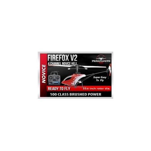 Parkflyers Firefox SR RTF Electric RC Heli 2200