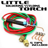 XtremepowerUS Little Gas Welding Soldering Torch Jewelry Kit with 5 Tips